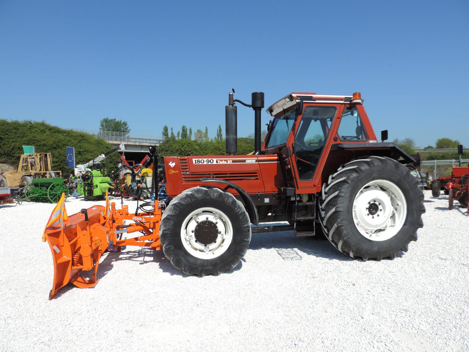 tractors on tyres fiat 180 90 dt one ex owner zeta macchine. Black Bedroom Furniture Sets. Home Design Ideas